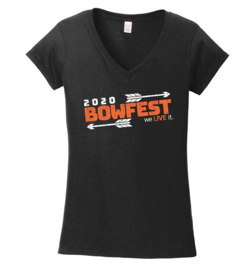 Bowfest 2020 Women's V Neck Shirt
